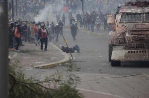 Sube a dos la cifra de muertos por las protestas contra Gobierno en Ecuador
