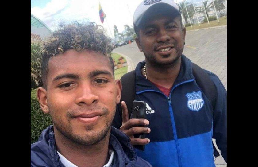 Silvano Estacio caminó de Ambato a Quito para que su hijo juegue el Mundial Sub-17