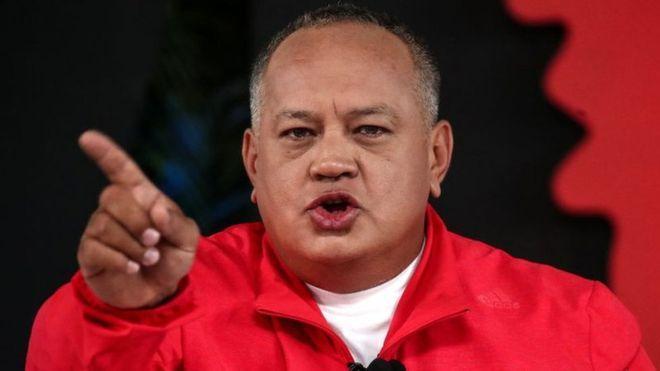Diosdado Cabello sobre presencia de Rafael Correa en Venezuela: 'Ojalá estuviera aquí'