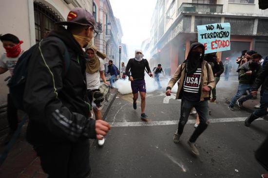 El Gobierno español expresa su 'enorme preocupación' por las protestas en Ecuador