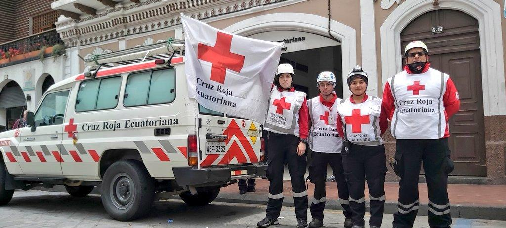 Cruz Roja suspende sus servicios por no poder garantizar la seguridad de voluntarios
