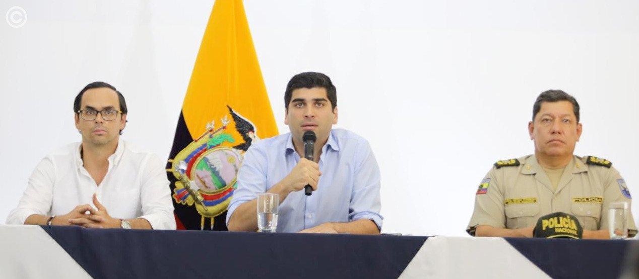 Vicepresidente de Ecuador dice que están logrando ''frenar la pretensión de desestabilizar''