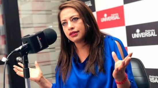Paola Pabón a Romo: 'Estaré dispuesta a dar mi versión. El que nada debe nada teme'