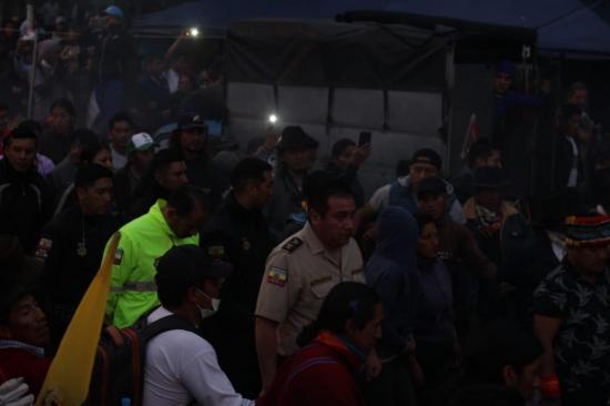 Policías retenidos por indígenas fueron entregados a delegados de las Naciones Unidas