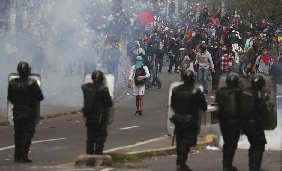 La Defensoría del Pueblo confirma la muerte de un manifestante en Quito
