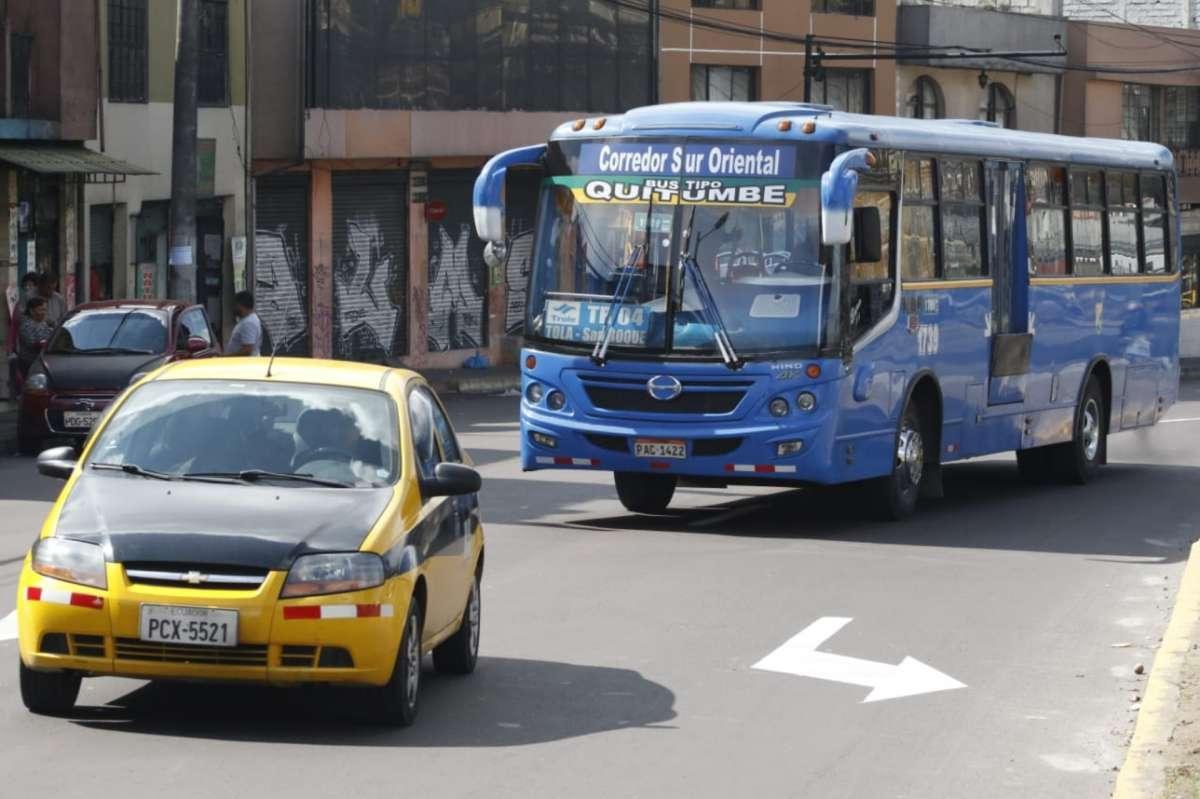 Se mantienen problemas de transporte en Quito tras protestas