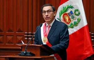 Presidente de Perú dice que extitular del Congreso 'está usurpando un cargo'