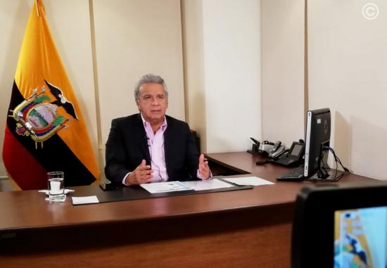 Según el alcalde de Quito, Jorge Yunda, el presidente de Ecuador ha decidido revisar el decreto 883
