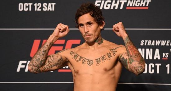 Marlon ''Chito'' Vera consigue quinta victoria consecutiva en UFC