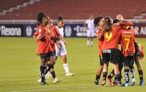 Deportivo Cuenca inicia con triunfo y goleada la Copa Libertadores femenina