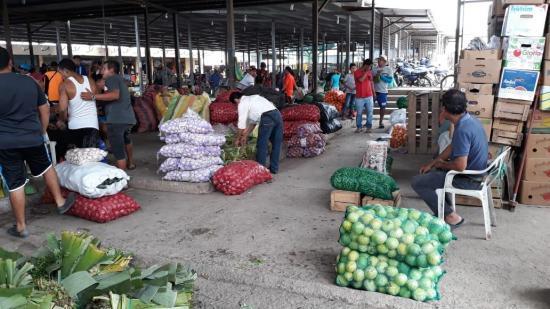 Actividad comercial en Portoviejo comienza a normalizarse