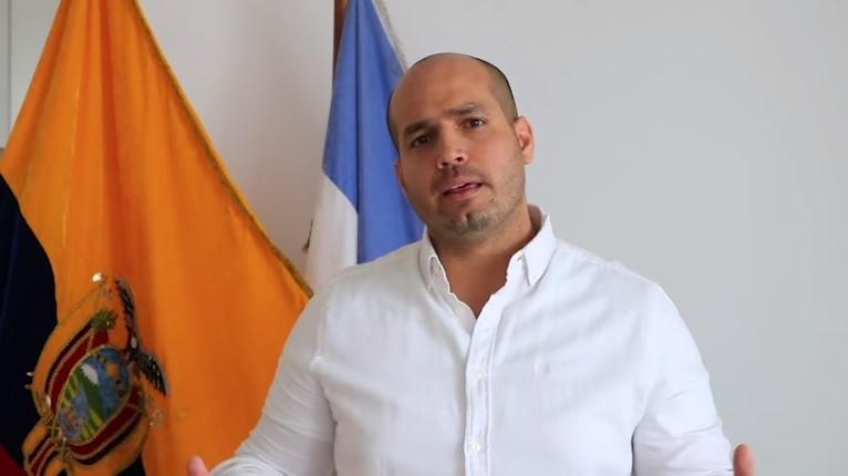 Alcalde de Manta convoca a concentración pacífica este lunes