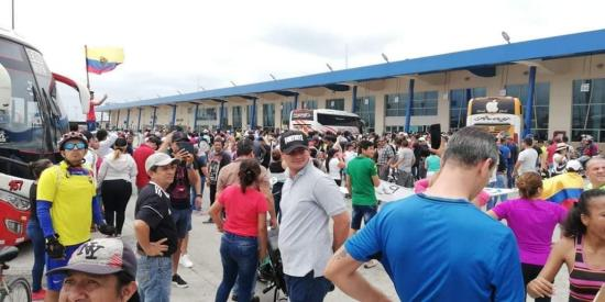 Terminal terrestre de Manta anuncia suspensión de actividades