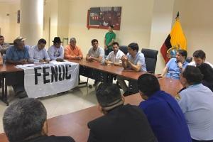 Vicepresidente se reúne en Guayaquil con representantes de varias organizaciones