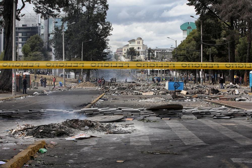 Defensoría del Pueblo eleva a siete los fallecidos en protestas en Ecuador