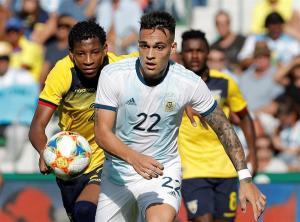 Argentina golea a una frágil Ecuador en amistoso disputado en España (6-1)