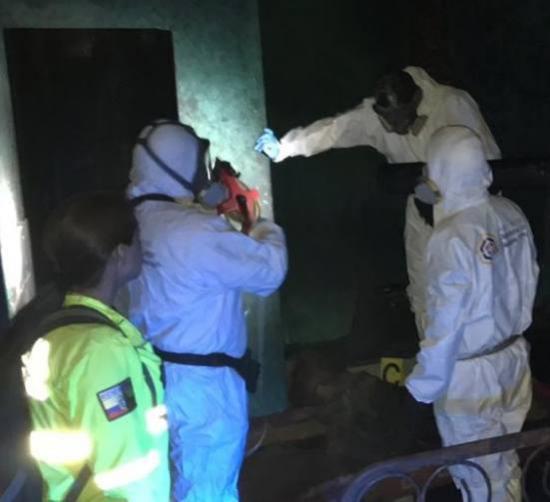Al menos nueve personas murieron en incendio en supuesta clínica de rehabilitación