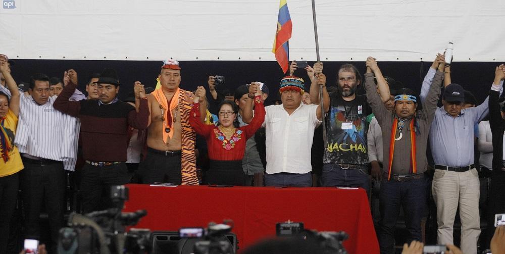 Jaime Vargas: ''Hemos derogado juntos, con la lucha se ha derogado el decreto 883''