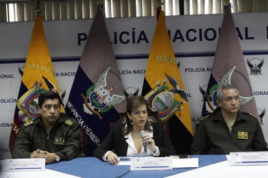 Protestas dejan 435 policías heridos y 108 patrulleros dañados en Ecuador