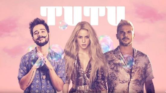 Shakira, Camilo y Pedro Capó estrenan el remix de 'Tutu'