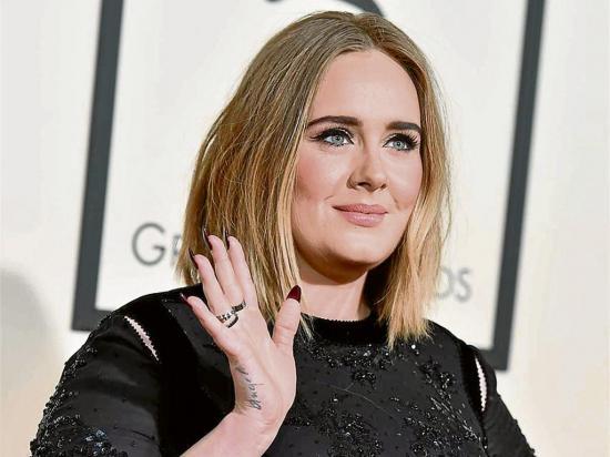 La cantante Adele sigue ganando millones, sin grabar ni hacer giras