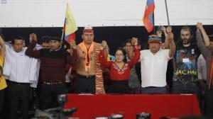 La CONAIE niega que vaya a crear un nuevo partido político de cara a las elecciones de 2021