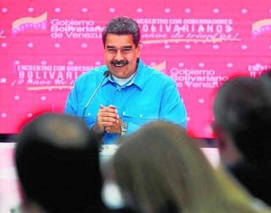 Maduro repartirá las minas de oro