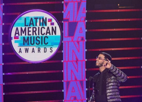 Anual AA resalta la importancia del reguetón en los Latin AMA con 5 premios