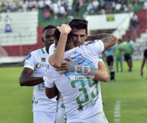 Liga de Portoviejo venció por 2-0 al Atlético Santo Domingo en el estadio Reales Tamarindos