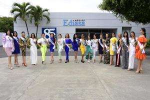 Esta noche Manabí elige a su nueva Reina entre 19 candidatas