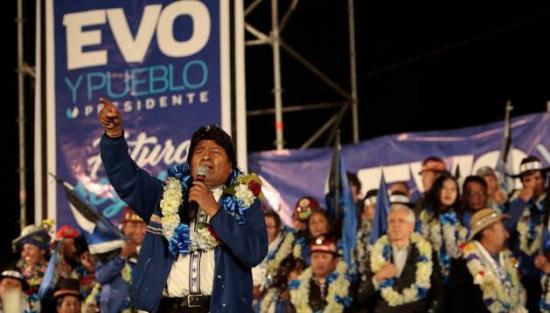 Evo Morales llama a la participación pacífica en los comicios de este domingo