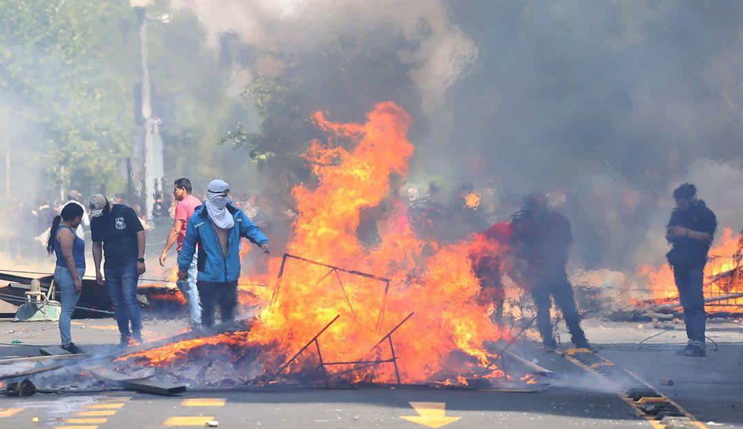 Disturbios en Chile han dejado dos muertos según el Gobierno