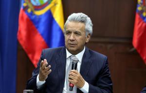 Moreno llama ''asno'' a Maduro y le culpa de violencia en protestas en Ecuador