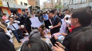 Halladas decenas de maletas electorales abandonadas en varias calles de La Paz tras comicios