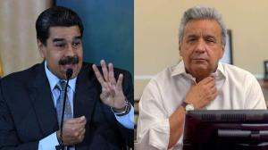 Maduro llama 'estúpido' a Lenín Moreno y se deslinda de protestas regionales
