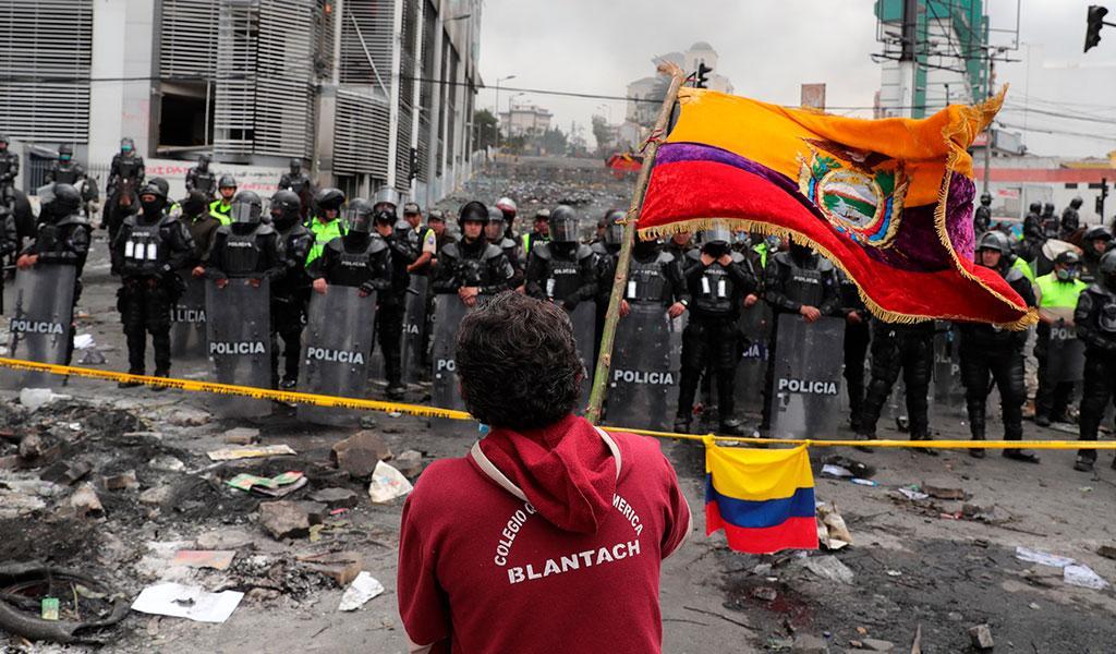 Un equipo de la ONU se reunirá con todos los sectores en Ecuador tras las protestas