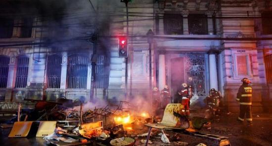 La SIP denuncia el 'grave atentado contra la libertad de prensa' en Chile