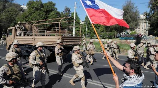 Gobierno de Chile informa de 15 muertes desde el inicio del estallido social