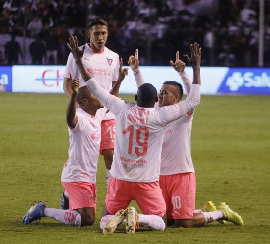 Liga de Quito da el primer golpe en el partido de ida por la semifinal de Copa Ecuador