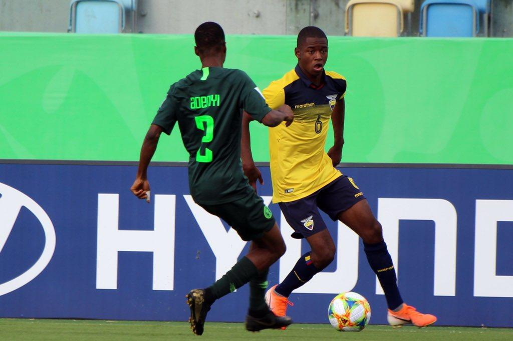 Said Ibrahim le quita el caramelo de la boca a la selección sub 17 de Ecuador