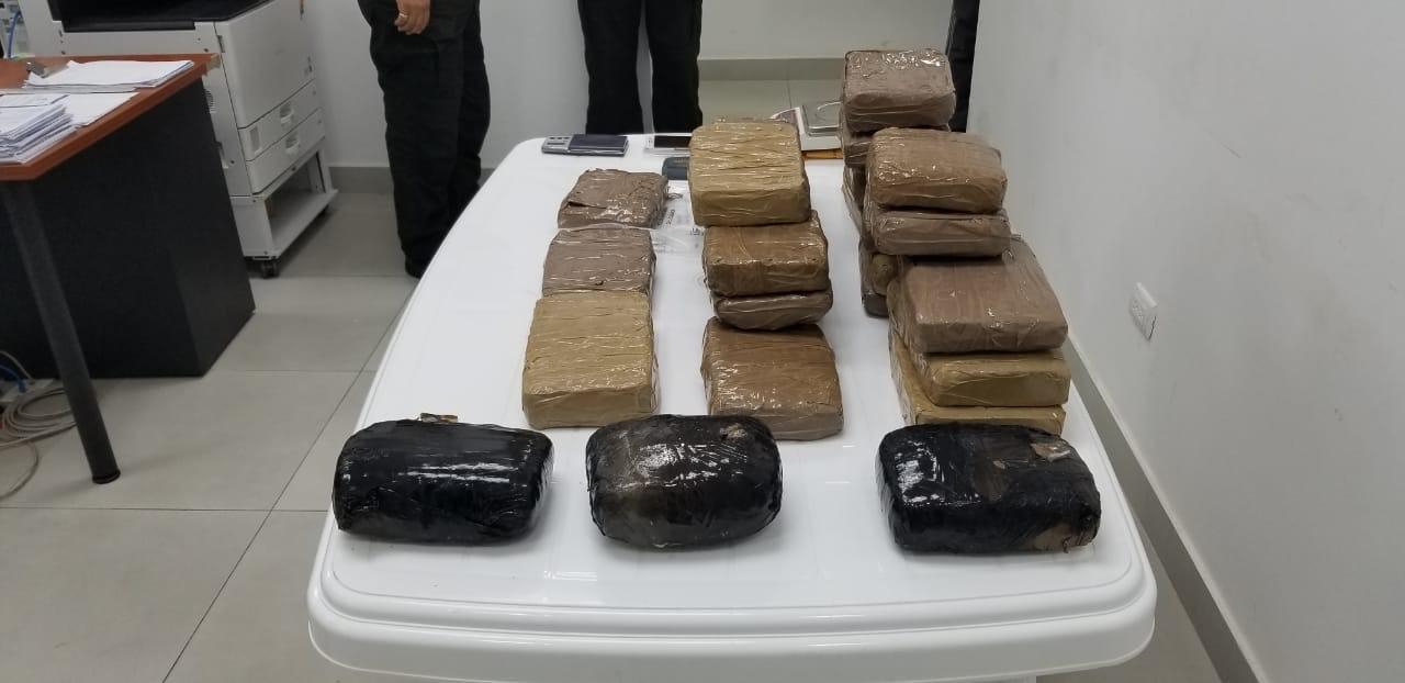PORTOVIEJO: 27 paquetes de droga fueron incautados en la ciudadela Cevallos