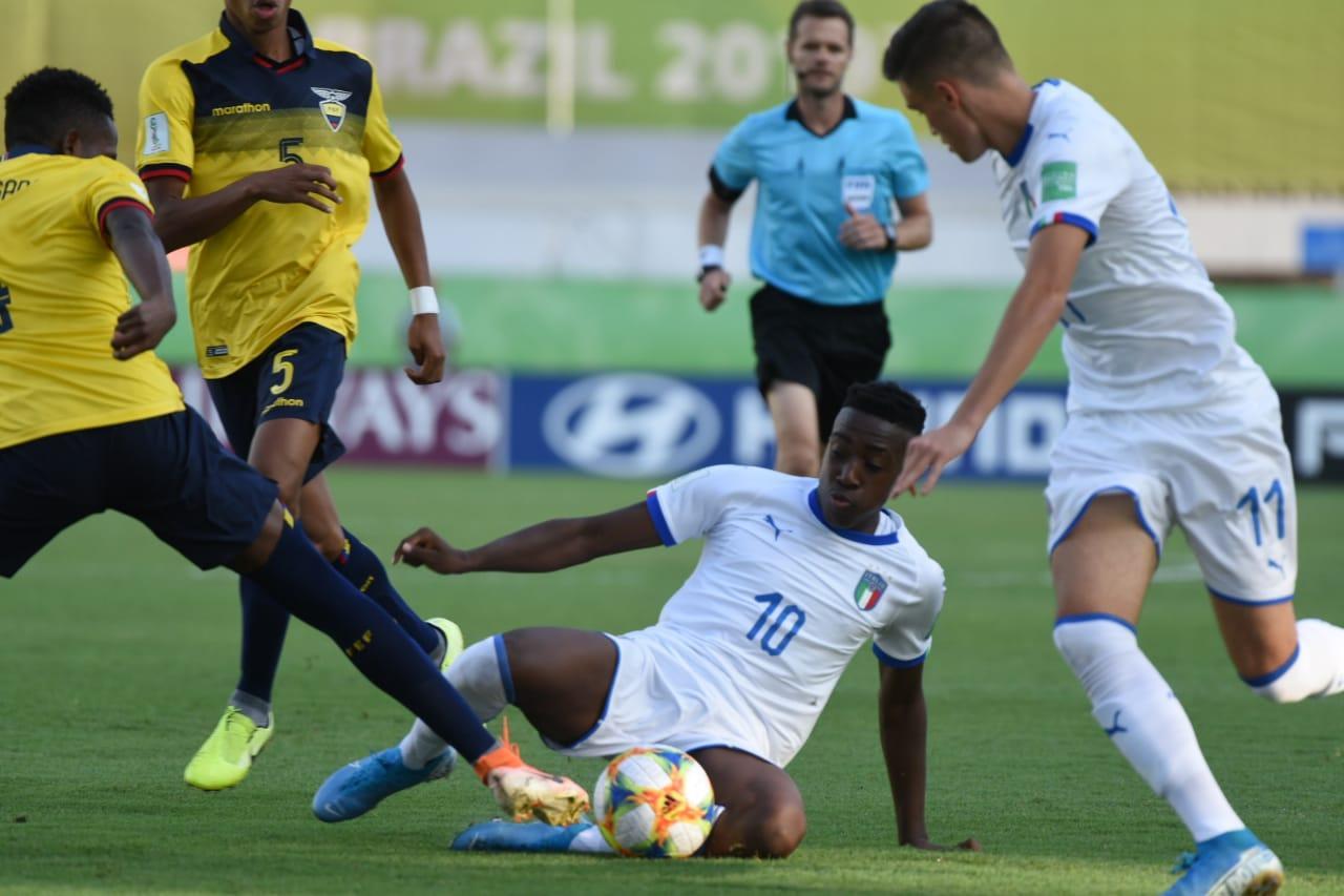 Ecuador, eliminado del Mundial Sub 17 tras caer por la mínima diferencia ante Italia