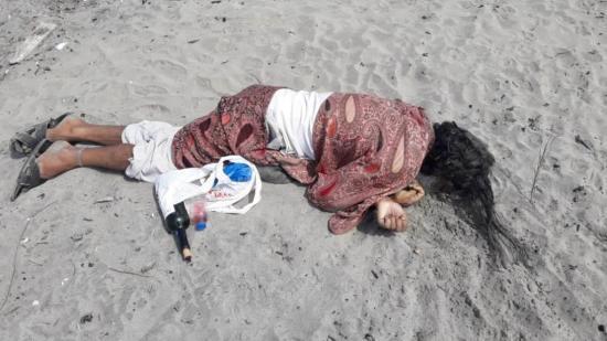 San Vicente: Hombre fue hallado sin vida y en envuelto en una sábana