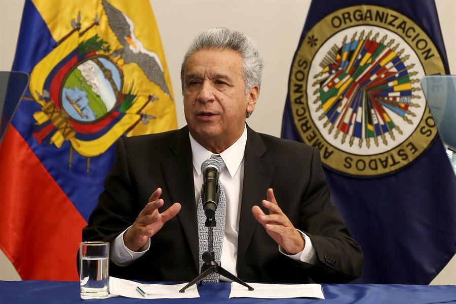 Presidente Lenín Moreno participa en inauguración de sesiones de la CIDH