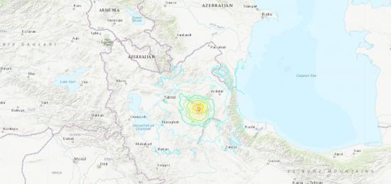 Al menos cuatro muertos y más de 70 heridos a causa de un terremoto en el noroeste de Irán
