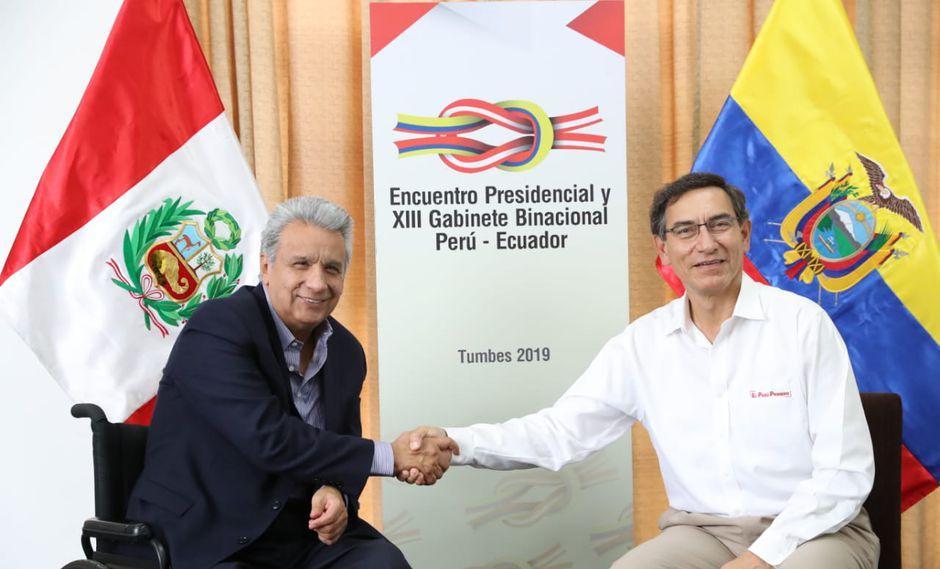 Ecuador y Perú firman acuerdos y se comprometen a cerrar pendientes de paz