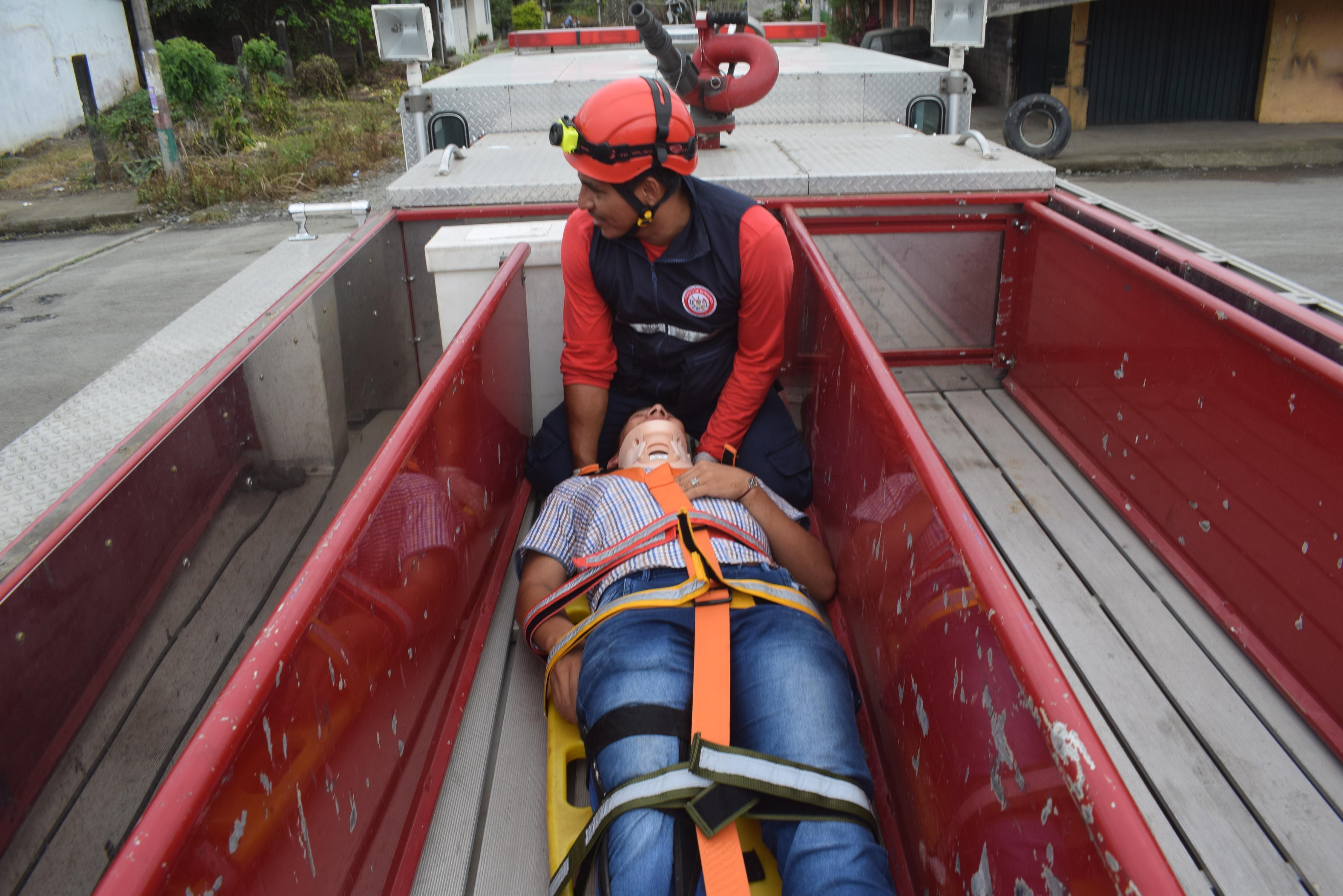 Piden su  ambulancia