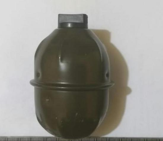 Hallan granada en una vivienda de Santo Domingo
