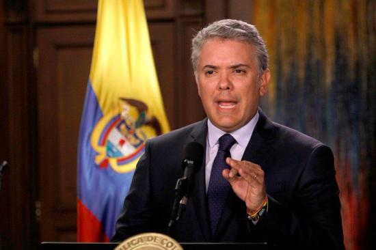 Duque rechaza llamados a la violencia en convocatoria a protestas en Colombia