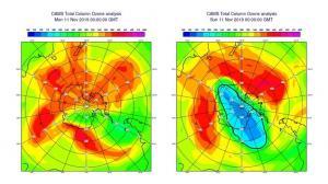 El agujero de ozono más pequeño en 35 años se cierra anticipadamente